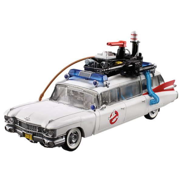 Transformers Collaborative: Ghostbusters Mash-Up - Ghostbusters Ecto-1 Ectotron Figure by Hasbro