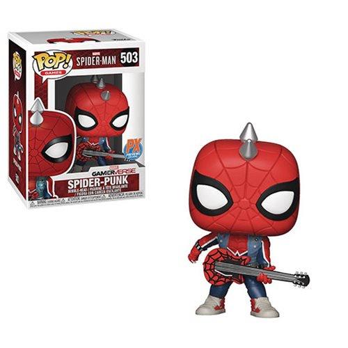 Spider-Man Video Game Spider-Punk Pop! Vinyl Figure #503 - Previews Exclusive
