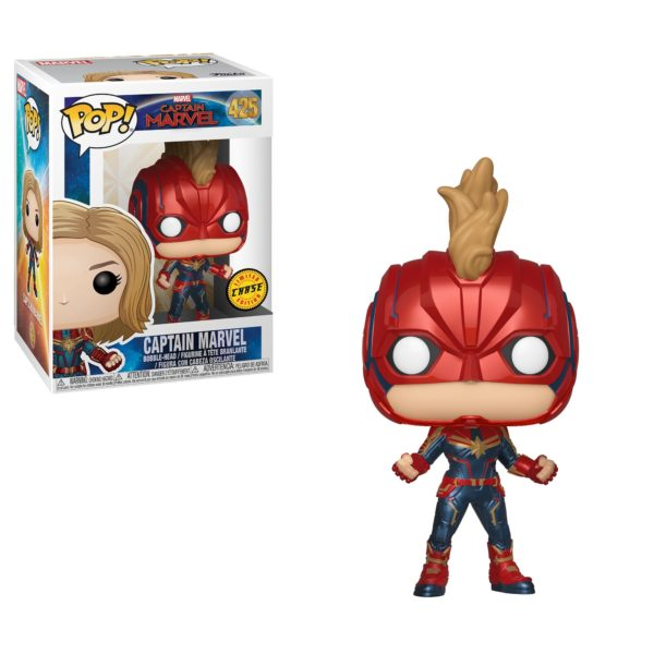 Chase Pop! Captain Marvel Funko!