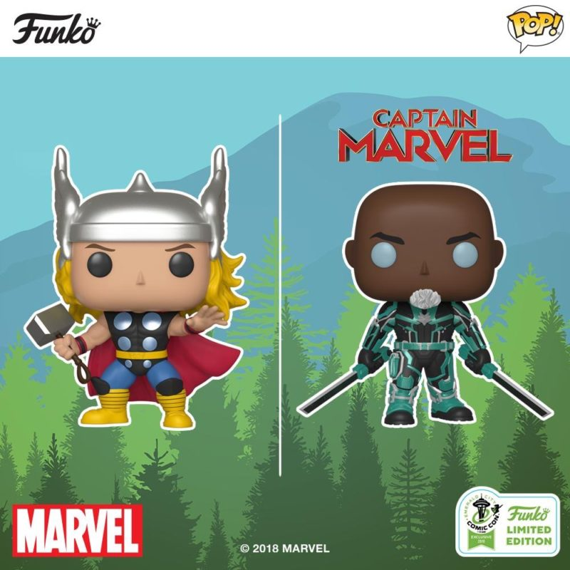Funko ECCC 2019 Reveals: Marvel!