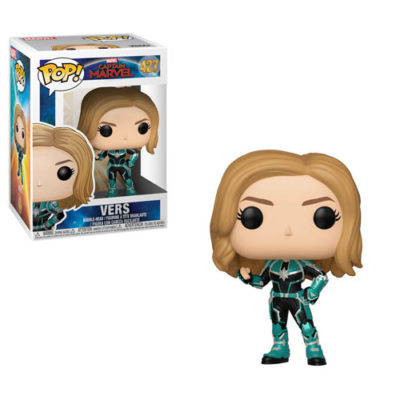 Vers Funko Pop! Captain Marvel!