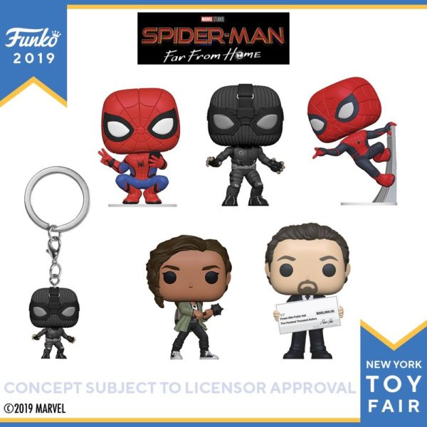 Funko Pop! Spider-Man: Far From Home!