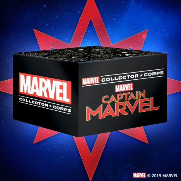 Amazon Captain Marvel Funko Marvel Collector Corps