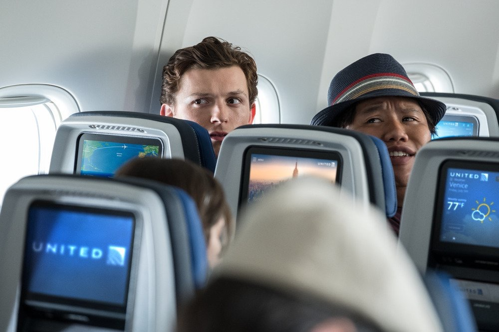 Spider-Man Far From Home United Airlines