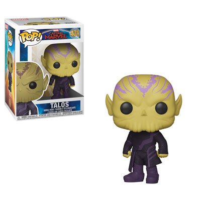 Talos Skrull Funko Pop! Captain Marvel!