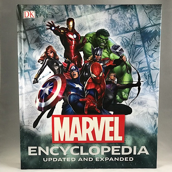 Front Marvel Encyclopedia Book!