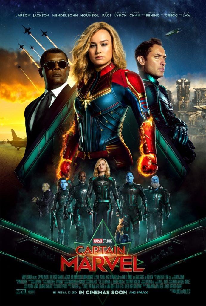 Captain Marvel International Poster!