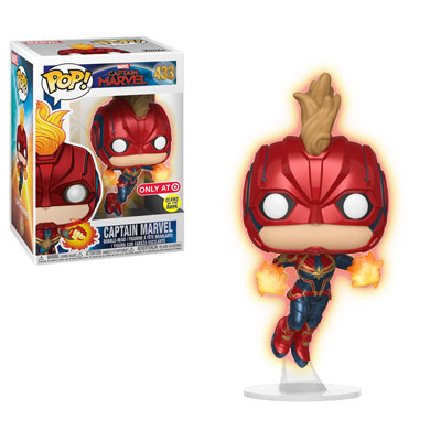 Target Exclusive Funko Pop! Captain Marvel!