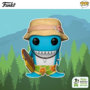 Pop! Funko: Spastik Plastik- Fin DuChomp (Blue - 3000 pc)
