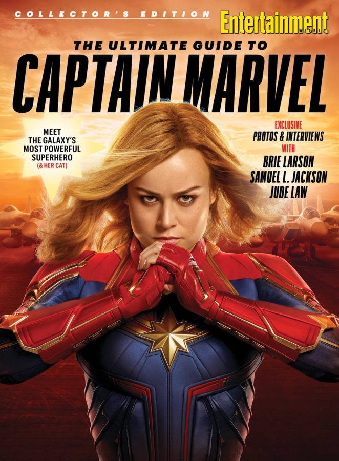 Entertainment Weekly Captain Marvel Cover!