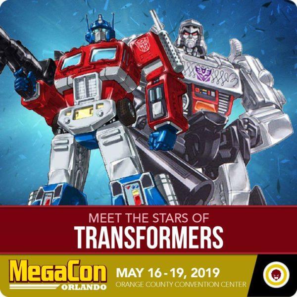 Transformers Voice Actors Coming To MegaCon 2019!