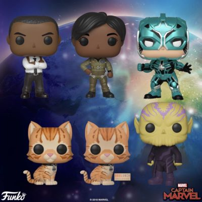 Captain Marvel Funko Supporting Cast