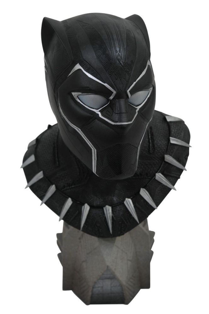 Legends In 3D Movie Black Panther 1/2 Scale Resin Bust: