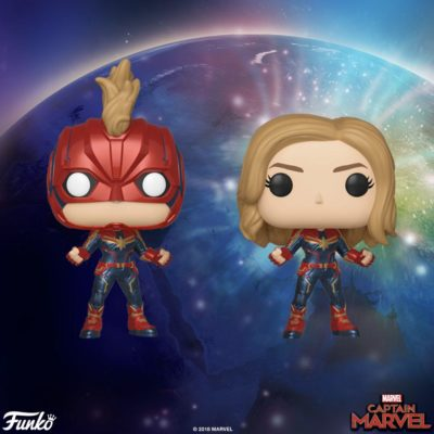 Captain Marvel Funko Pop! Figures (Chase)