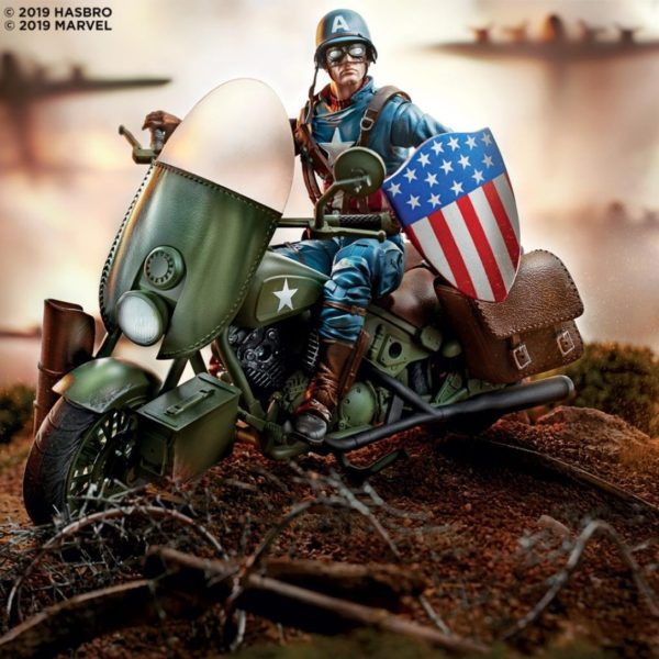 #MarvelLegends Vehicles 6-inch Captain America WWII Figure & Vehicle.