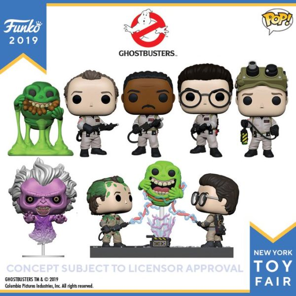 New Ghostbusters Funko collectibles revealed at TFNY2019