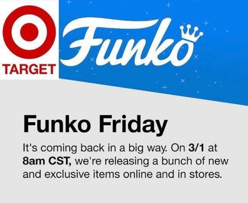 Funko Fridays Are Coming Back To Target!