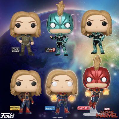 Captain Marvel Funko | Carol Danvers
