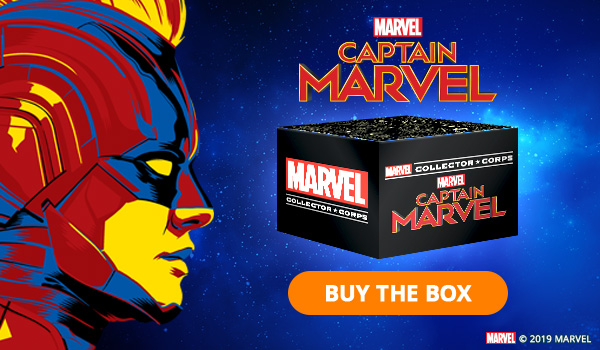 Captain Marvel Funko Marvel Collector Corps