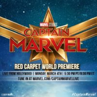 Captain Marvel World Premiere!