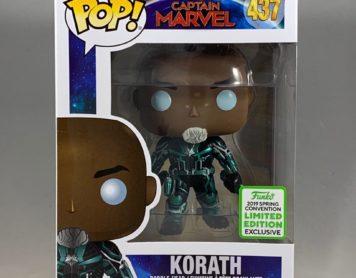 Pop! Captain Marvel – Korath Exclusive Review!