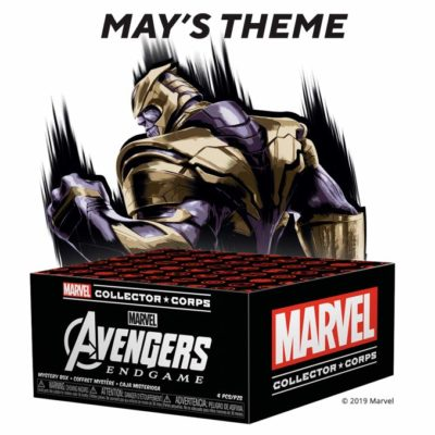 May - Avengers: EndGame Marvel Collector Corps!
