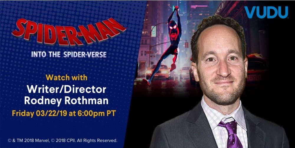 Spider-Man: Into The Spider-Verse VUDU Viewing Party!