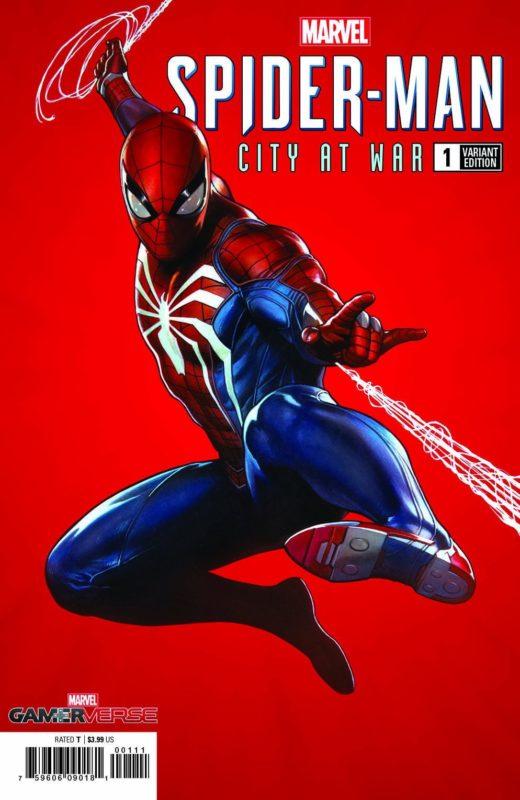 Marvel GamerVerse Spider-Man: City At War Comic Book Variant Cover!