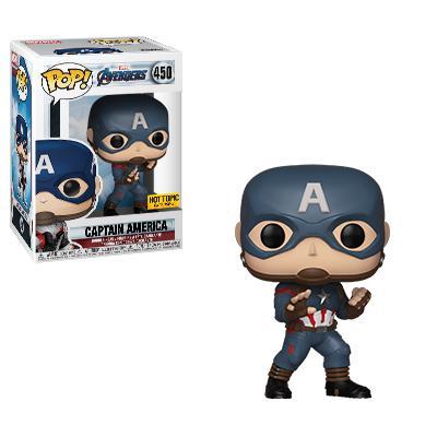 Pop! Marvel Avengers: Endgame Captain America Hot Topic Exclusive!