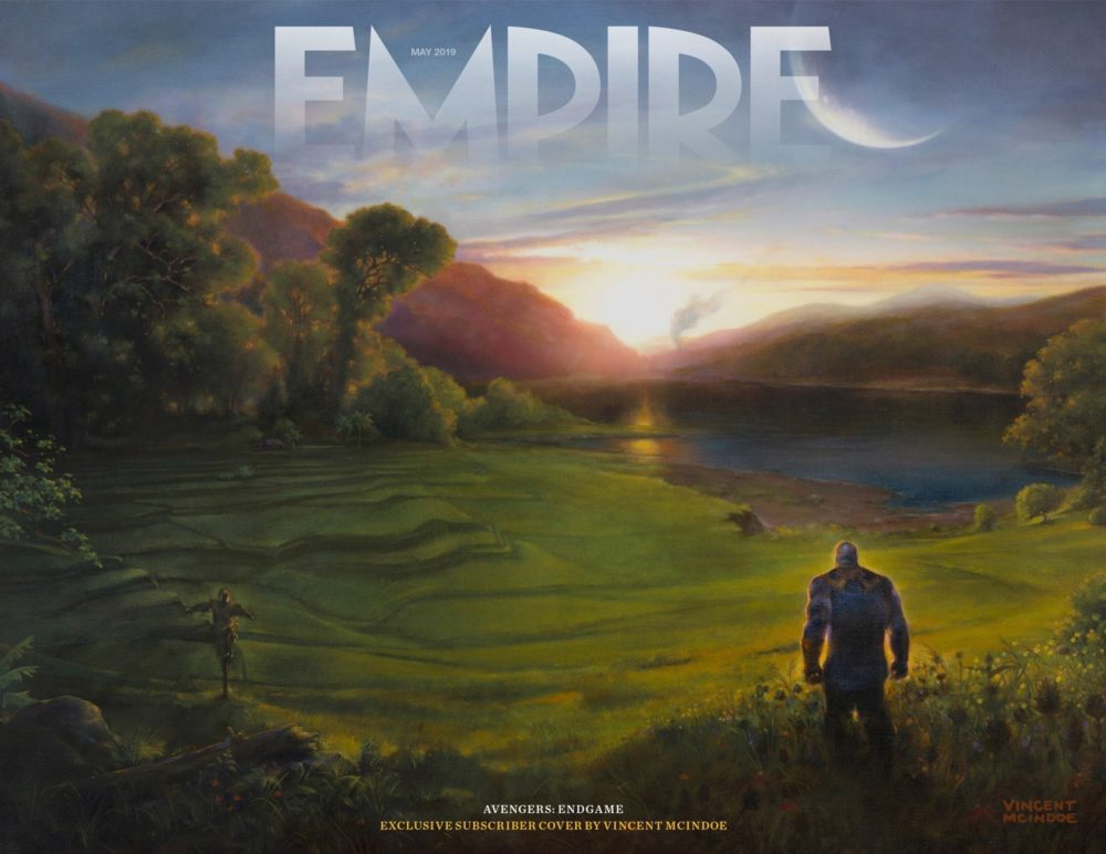The Marvel Studios Avengers: Endgame Empire Magazine Subscriber Cover is here!