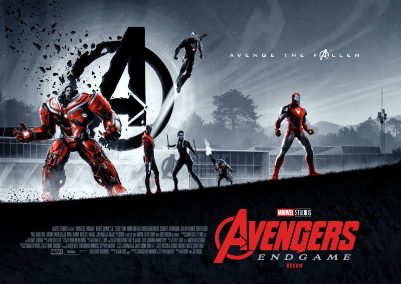 Matt Ferguson Odeon Cinemas Avengers: Endgame Posters!