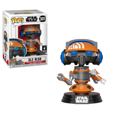 Pop! Star Wars: Galaxy's Edge DJ R3X Exclusive!