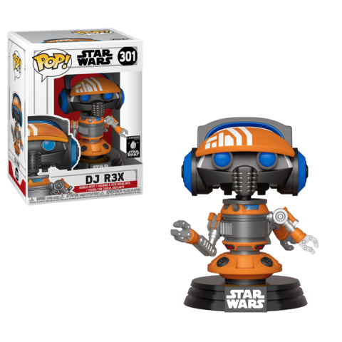 Pop! Star Wars: Galaxy's Edge DJ R3X Exclusive!