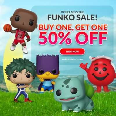 Funko Sale At Entertainment Earth - Last Days!