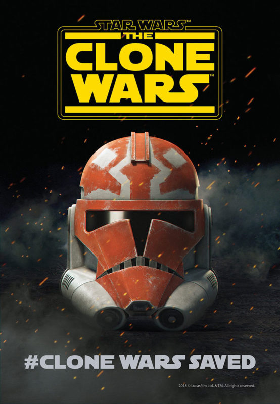 The Clone Wars Saved Poster