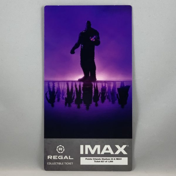 Avengers: EndGame IMAX Collectible Ticket!
