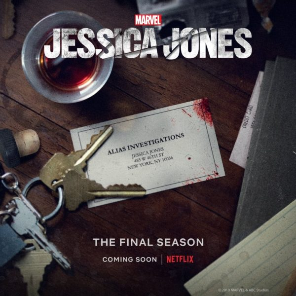 Marvel's Jessica Jones Season 3 Teaser Image!