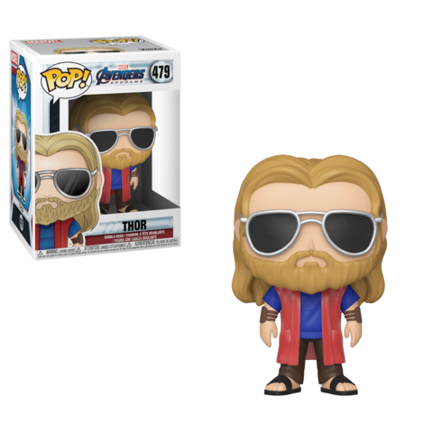 Thor's looking casual